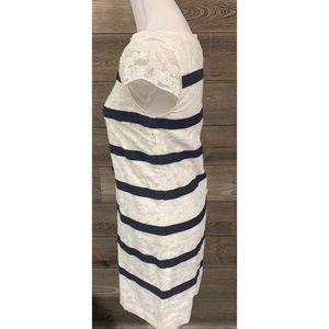 Vineyard Vines Dresses - VINEYARD VINES Anchor Lace Shift Dress IVORY 0